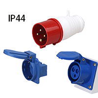 ip44 industrial plug and socket