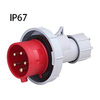 ip67 industrial plug and socket
